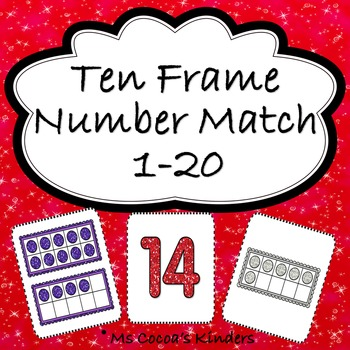 Ten Frame Number Match Game