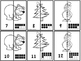Ten Frame Number Match Puzzles 1-20 -Winter