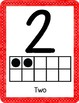 Ten Frame Number Posters 0-20 (Bold, Simple, + Clear)