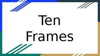 Ten Frame/Number Sense
