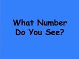 Ten Frame Number Sense PowerPoint