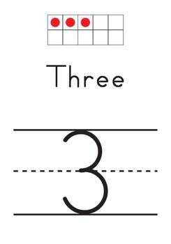 Ten Frame - Number Sets (1-30) - Simple & Clean