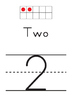 Ten Frame - Number Sets (1-30) - Simple & Clean