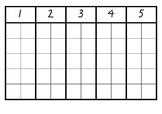 Ten Frame Numbers 1-10