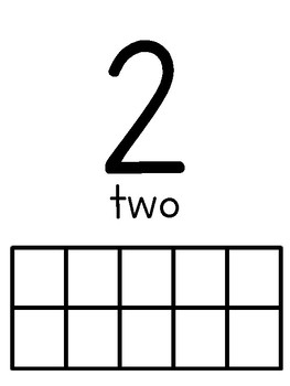 Ten Frame Numbers