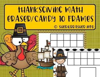 Ten Frame Pages | Thanksgiving | 1-10