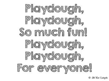 Ten Frame Playdough Mats!
