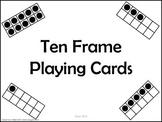 Ten Frame Playing Cards