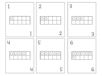 Ten Frame Playing Cards {FREEBIE}