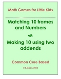 Making 10!  game using ten frames