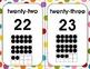 Ten Frame Poster - Dots