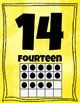 Ten Frame Posters 1-20 - Bright