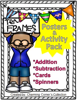 Ten Frame Posters & Activity Pack