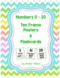 Ten Frame Posters & Flashcards 0 - 20