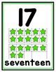 Ten Frame Posters--Stars 0-20