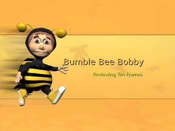 Ten-Frame Powerpoint : Bumble Bee Bobby