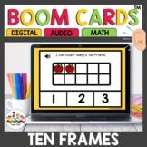 Ten Frame Practice Digital Task Cards Boom