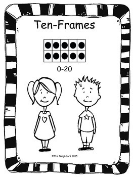 Ten Frame Printable