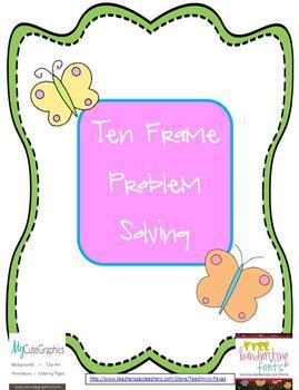 Ten Frame Problem Solving
