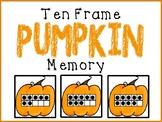 Ten Frame Pumpkin Memory (#'s 1-20)