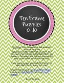 Ten Frame Puzzle 0-10