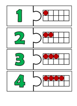 Ten Frame Puzzle