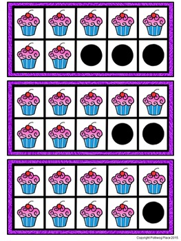 Ten Frame Puzzle Activity - Cupcakes {FREE}