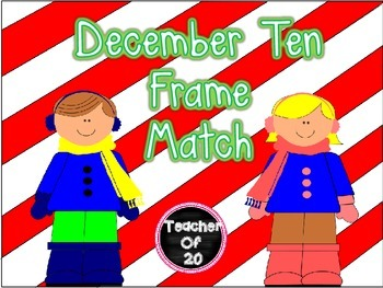 Ten Frame Puzzle {December}
