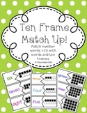 Ten Frame Puzzle - Number Words to 20