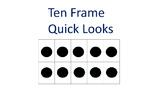 Ten Frame Quick Looks- Everyday Math