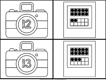 Ten Frame Snapshots