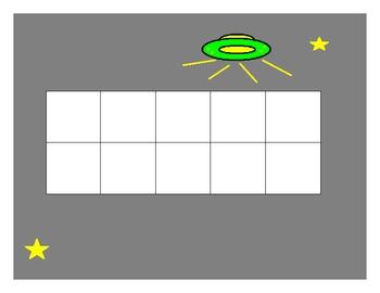 Ten Frame SpaceTheme