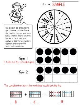 Ten Frame Spin