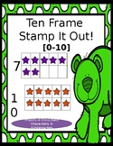 Ten Frame Stamp It Out [0-10]