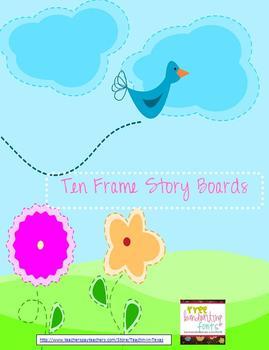 Ten Frame Story Boards