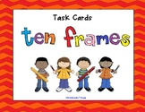 Task Cards   Ten Frames Two sets 1-10 and 1- 20