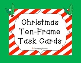 Ten Frame Task Cards: Christmas & Holiday Edition!