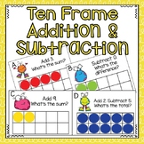 Ten Frame Addition and Subtraction