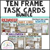 Ten Frame Task Cards Making Ten With  Friends Bundle