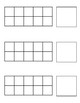 Ten Frame Template Worksheets