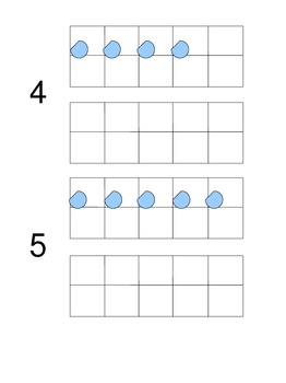 Ten Frame Templates with blanks