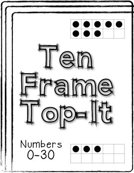Ten Frame Top-It Deck of Cards
