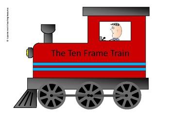 Ten Frame Train