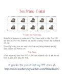 Ten Frame Trains
