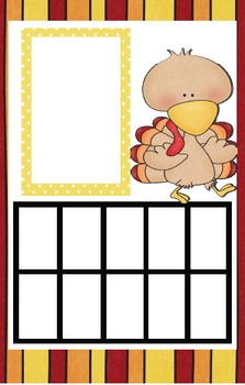 Ten-Frame Turkey Trot