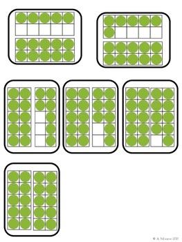 Ten Frame Turtles {Free Math Center from Bright Beginnings: 10 Math Centers}