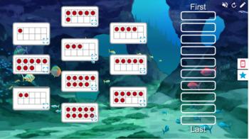 Ten Frame Underwater Rank Order