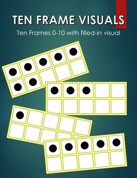 Ten Frame Visuals 0-10