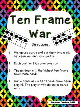 Ten Frame War