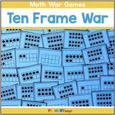 Ten Frame War Cards (A Number Sense Game)